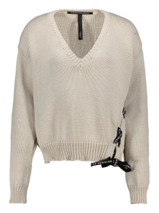 10 Days Trui V-NECK SWEATER 20 601 0201 1067 WHITE SAND
