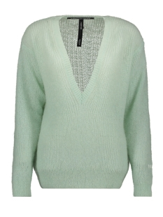 10 Days Trui V-NECK SWEATER 20 612 0201 4015 SURFBLUE MELEE