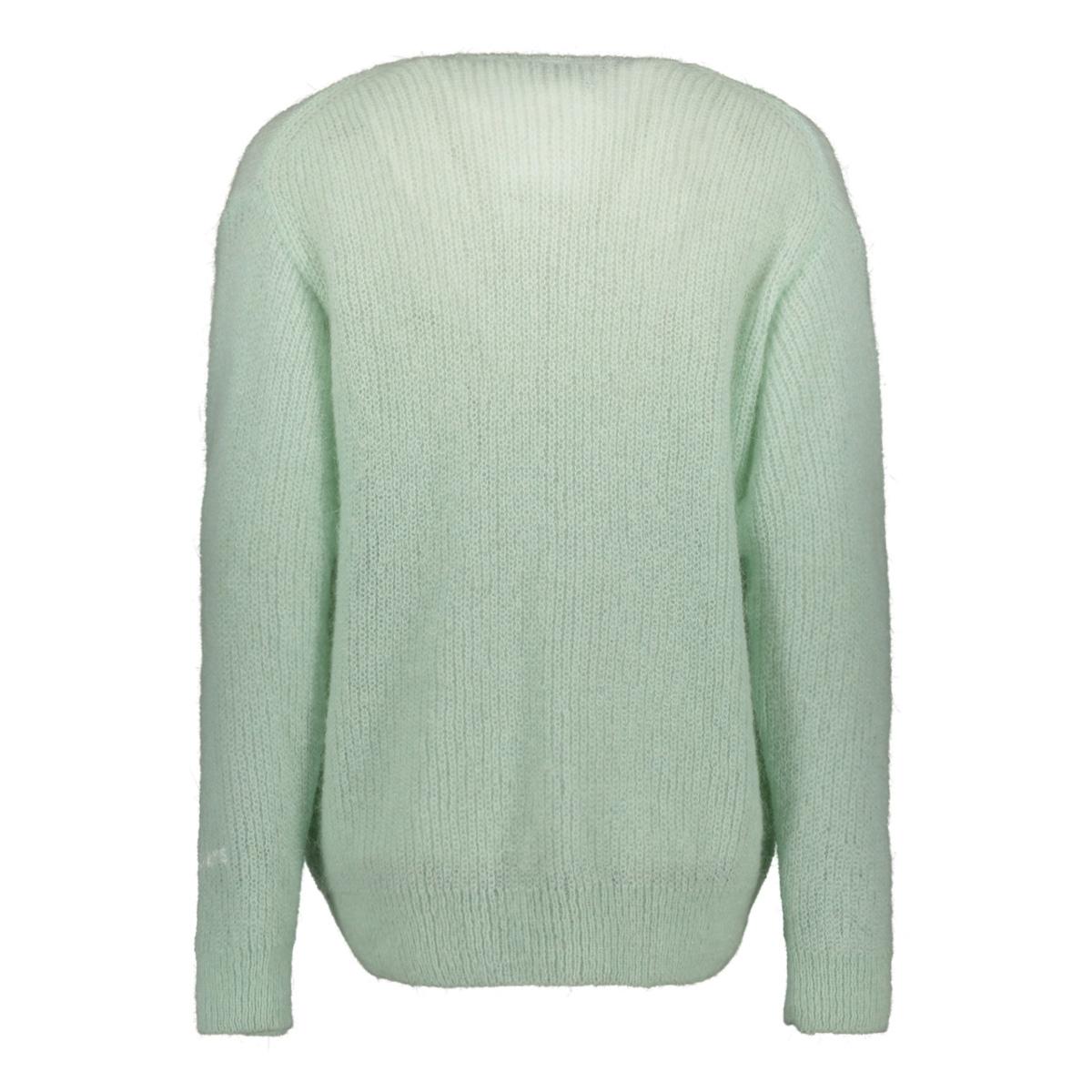 v-neck sweater 20 612 0201 10 days trui 4015 surfblue melee