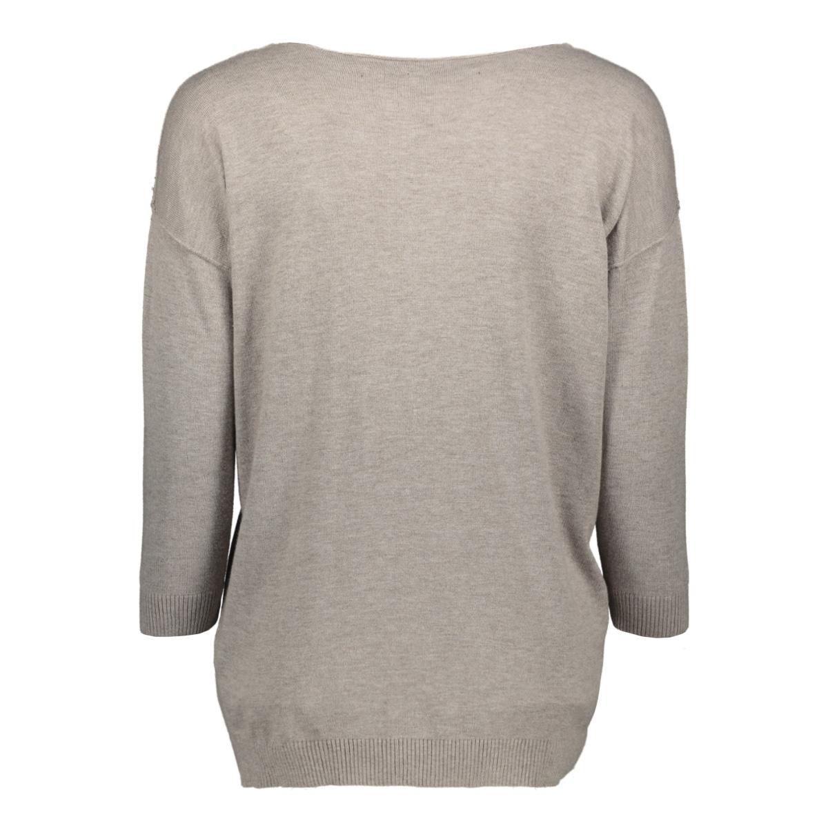 v-neck sweater 20 607 0201 10 days trui 1068 clay