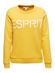 Esprit sweater SWEATSHIRT MET LOGO EN VROUWELIJKE HALS 010EE1J301 E752