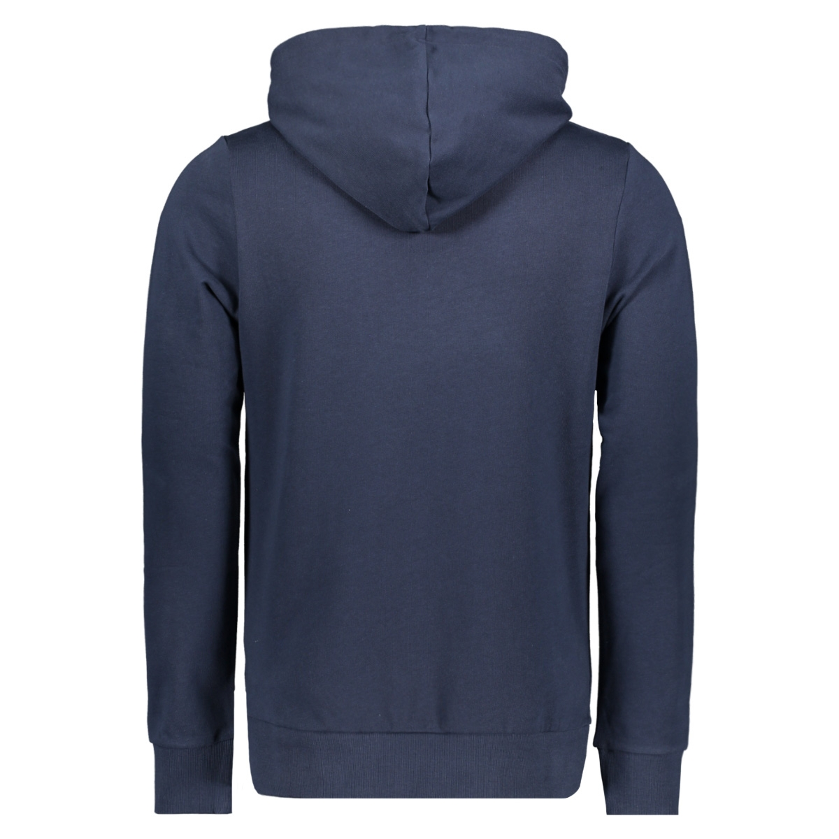 jortropic sweat hood 12164450 jack & jones sweater navy blazer/jj slim