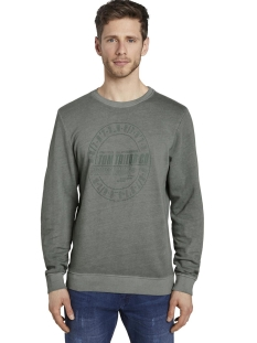sweater met print 1018148xx10 tom tailor sweater 22385