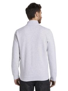 sweatjack met opstaande kraag  1018149xx10 tom tailor vest 11077