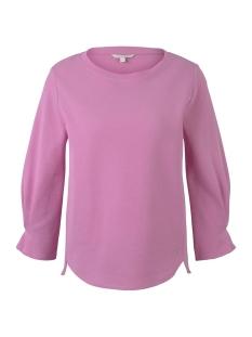 Tom Tailor sweater SWEATSHIRT MET MOUWEN 1016888XX71 22340