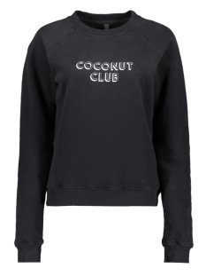 10 Days sweater SWEATER COCONUT CLUB 20 805 0201 BLACK