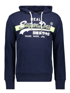 Superdry sweater HATCH HOOD UB M2010071A RICH NAVY