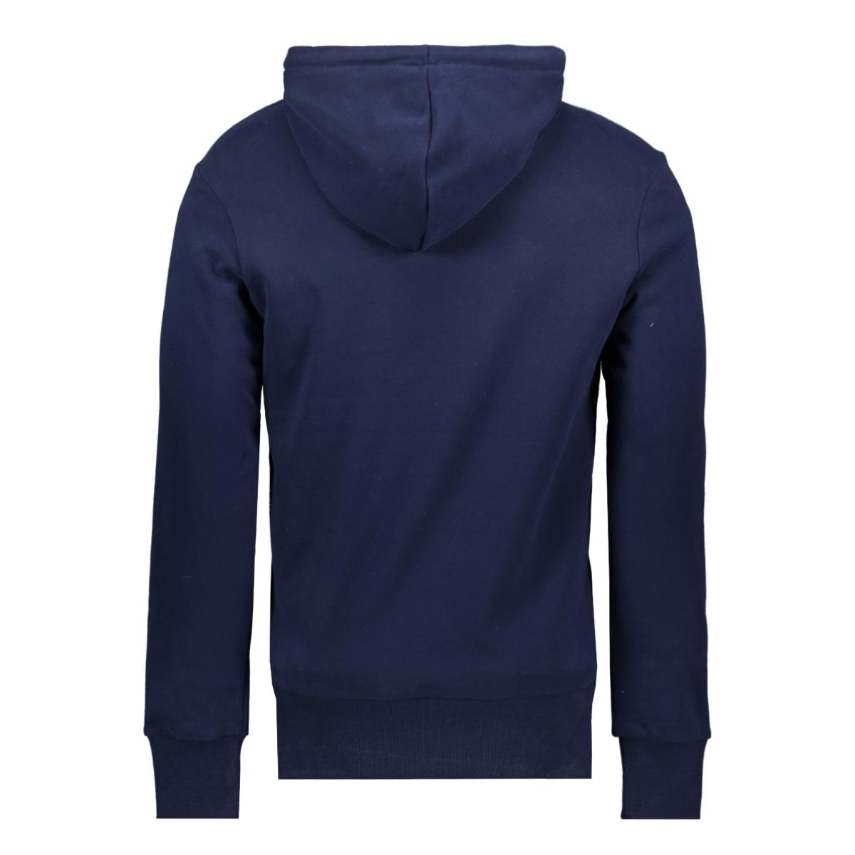 hatch hood ub m2010071a superdry sweater rich navy