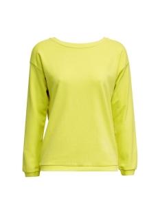 sweatshirt met rughals 040ee1j306 esprit sweater e740