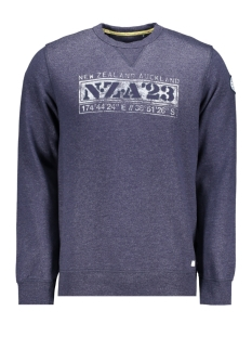 NZA sweater MANDAMUS 20AN326 267 NEW NAVY