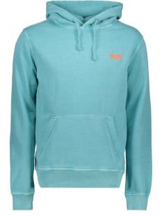 Superdry sweater OL PASTELLINE HOOD M2010044A PASTELLINE TURQUOISE