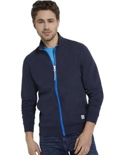Tom Tailor Vest SWEATJACK MET OPSTAANDE KRAAG 1018300XX10 10334