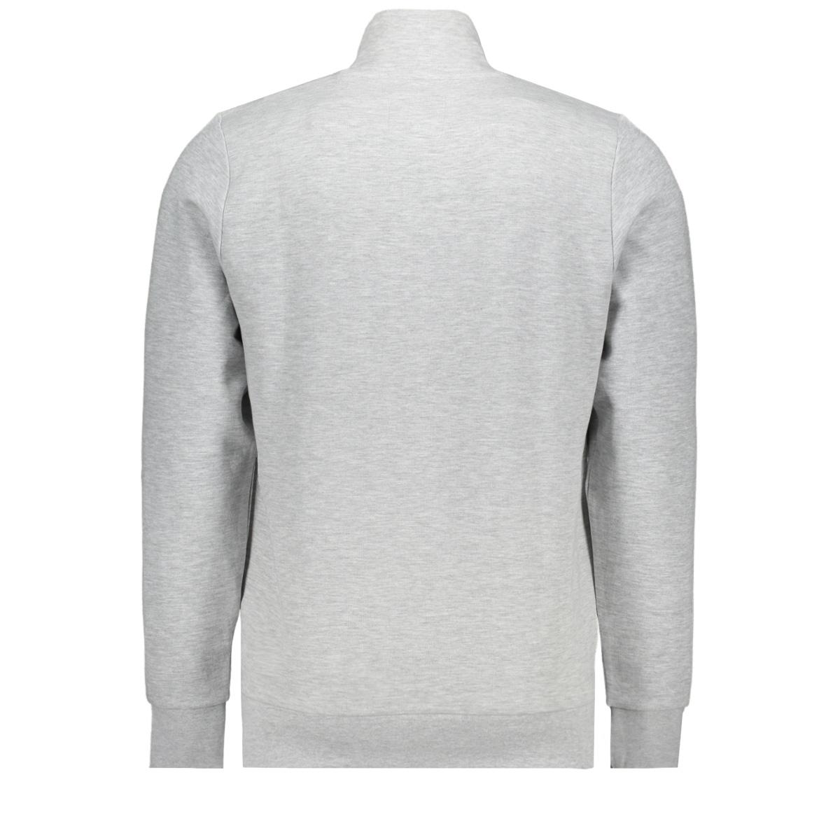 sweatjack met opstaande kraag 1018300xx10 tom tailor vest 15398
