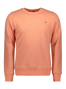 collective crew ub m2010023a superdry sweater pasandena peach