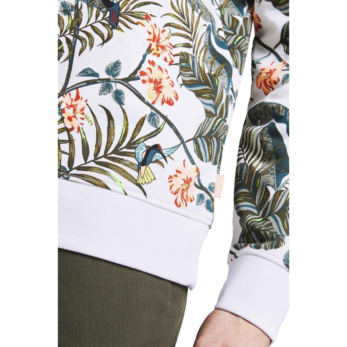 sweatshirt met tropische print 1019077xx12 tom tailor sweater 23108