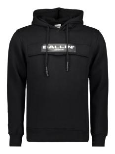 Ballin sweater BALLIN ANORAK HOODIE 02 BLACK