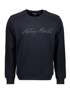 Antony Morato sweater FLEECE MMFL00721 7073 BLUE INK