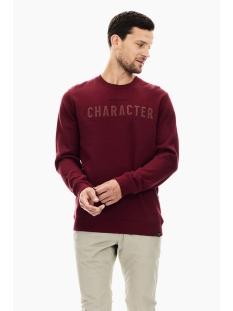 Garcia sweater TRUI MET TEKST PRINT T01264 2784 MERLOT