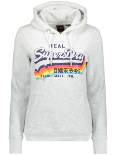 Superdry sweater VL NS HOOD W2010455A ICE MARL 54G