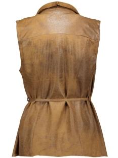 visecret waistcoat 14036097 vila gilet oak brown