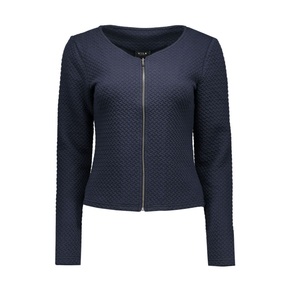 vinaja new short jacket-noos 14032657 vila blazer total eclipse