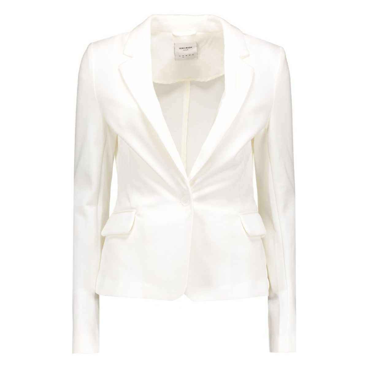 vmjulia ls blazer dnm color 10167254 vero moda blazer snow white