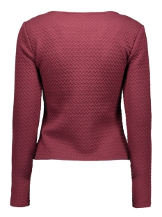 vinaja new short jacket-noos 14032657 vila blazer tawny port