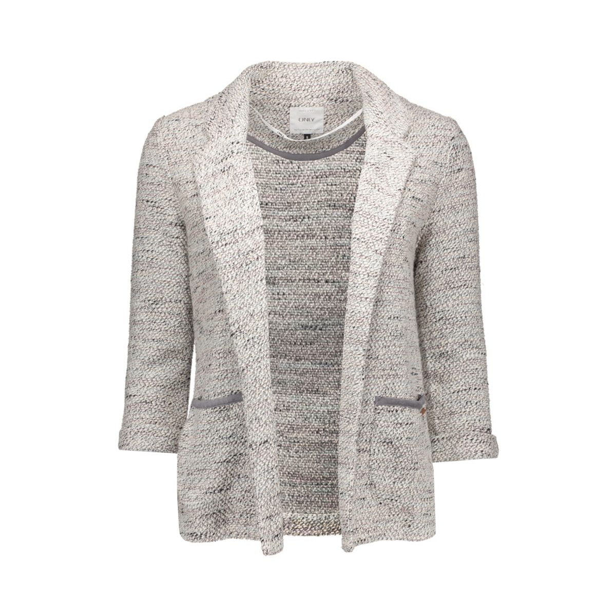 onlnew ada 3/4 jacket jrs 15128610 only blazer cloud dancer