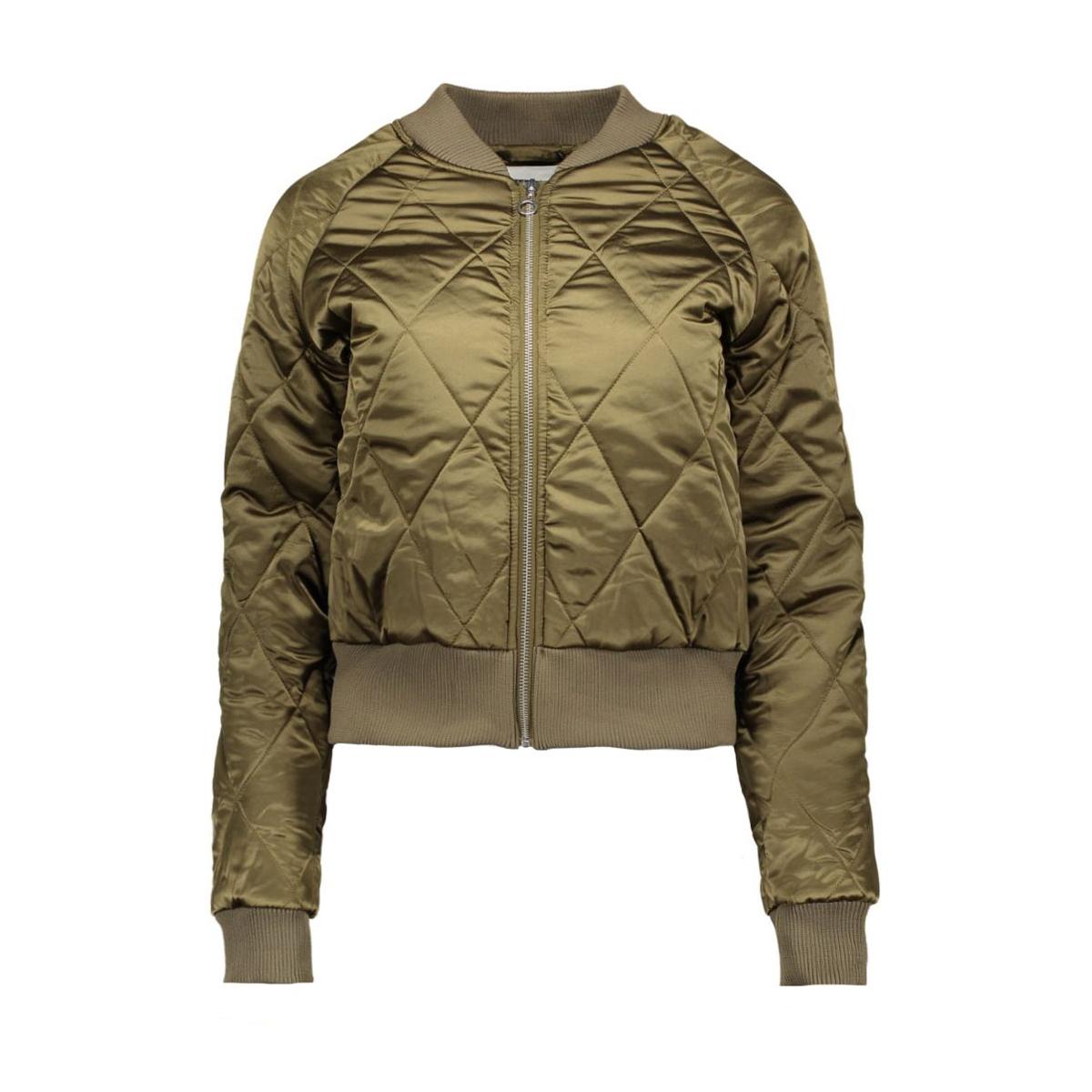 nmpilot l/s bomber jacket rep. x 10168857 noisy may jas ivy green