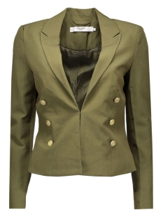 vmdana l/s blazer dnm a 10161971 vero moda blazer ivy green