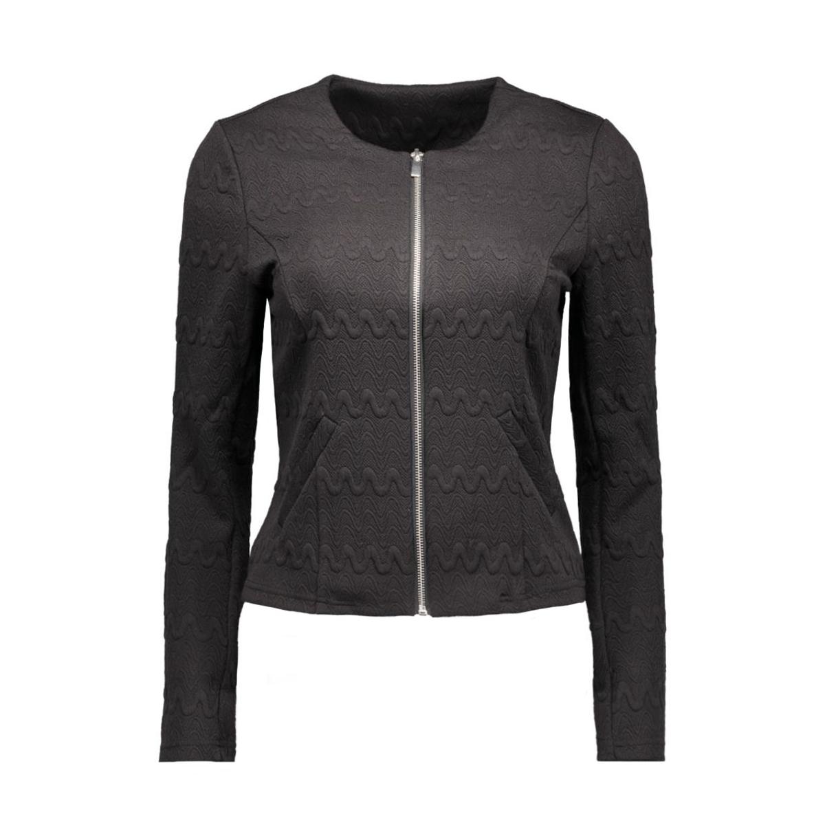 vmstructure l/s blazer a 10160277 vero moda blazer black/zipper