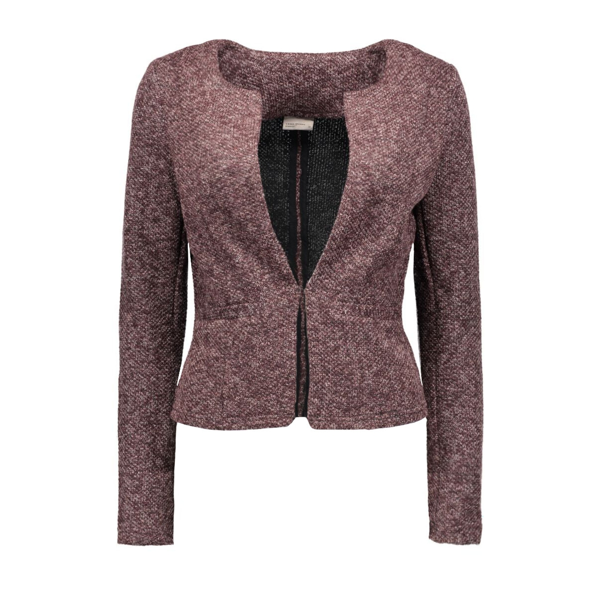 vmstructure l/s blazer a 10160277 vero moda blazer decadent chohol/melange
