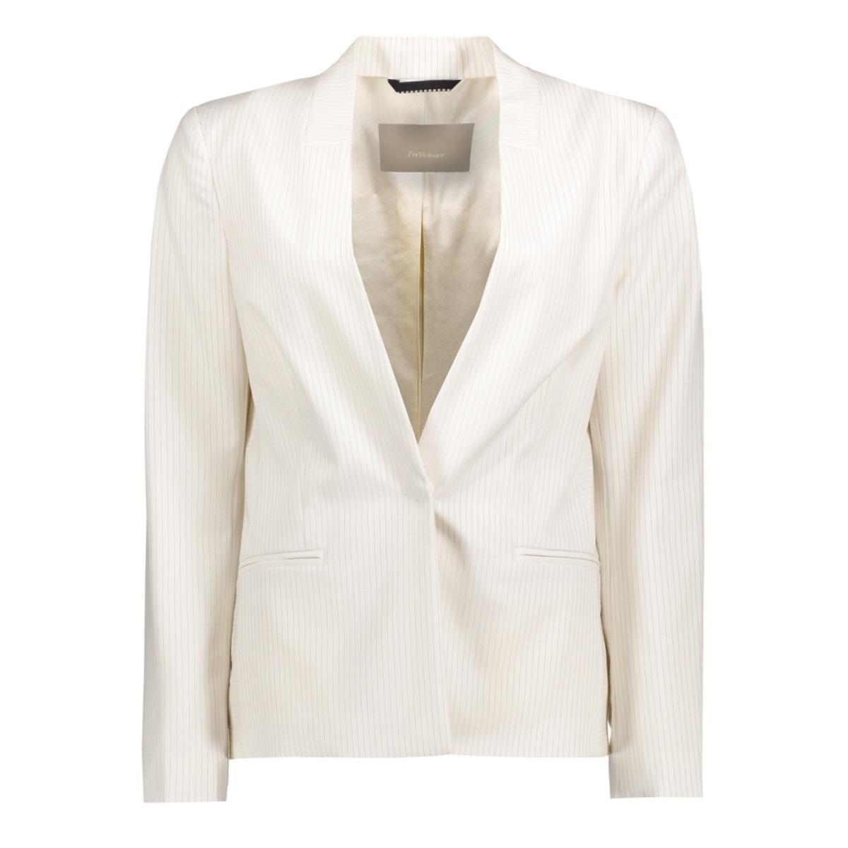 30101795 inwear blazer 10051 white smoke