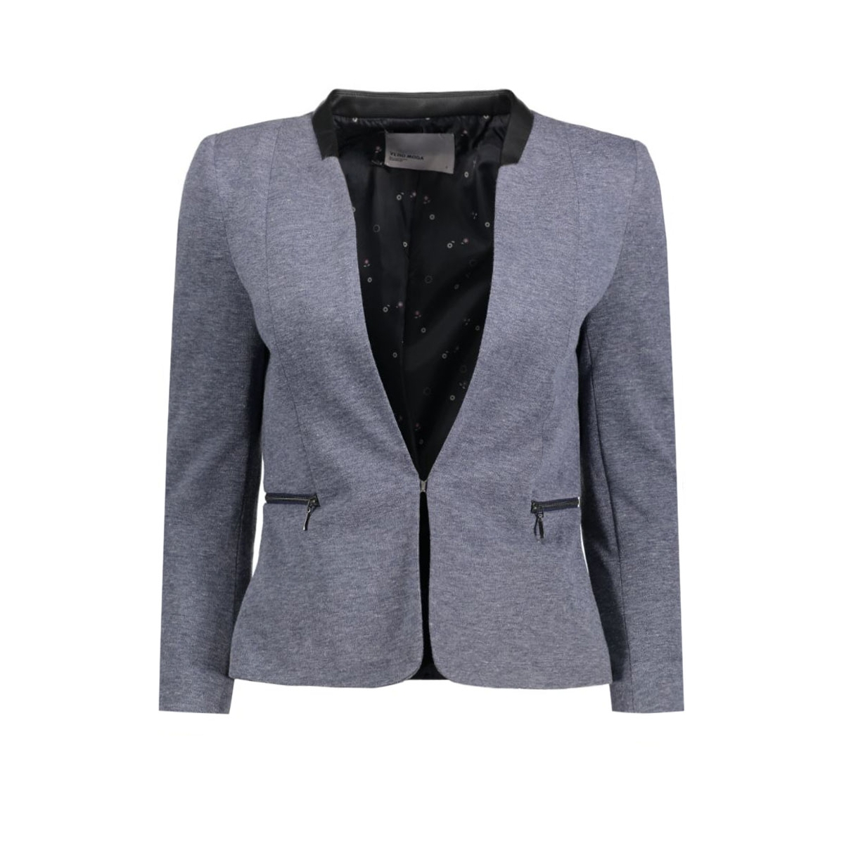 vmjuly 7/8 zip blaz vero moda blazer navy blazer