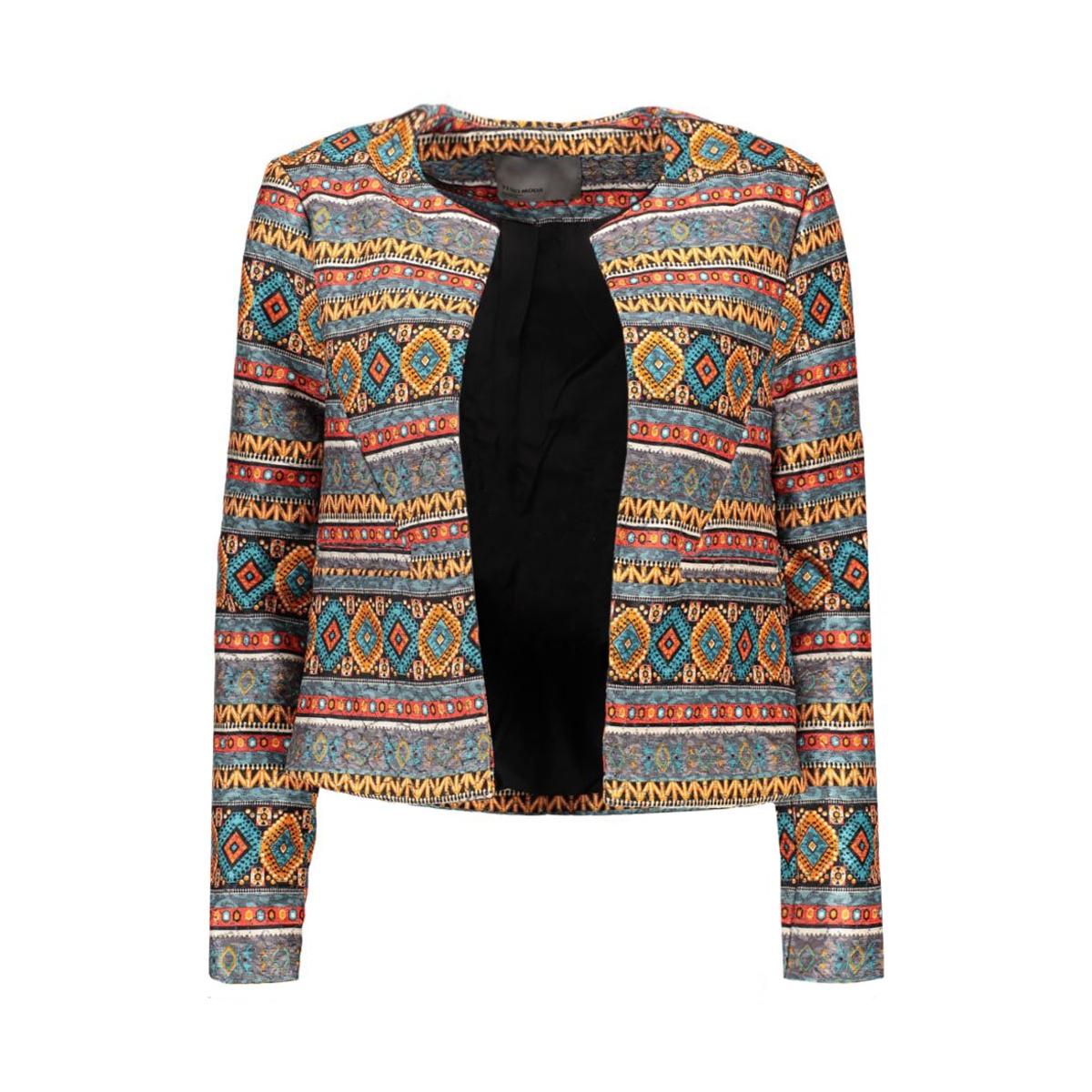 vmcara l/s blazer 10161749 vero moda blazer ombre blue