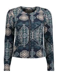 Vero Moda Blazer VMSTRUCTURE-GRAPHIC L/S BLAZER 10170454 Total Eclipse/Graphic Pr