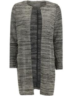 Vero Moda Vest VMSTRUCTURE W/L LONG BLAZER 10165250 Medium Grey Melange