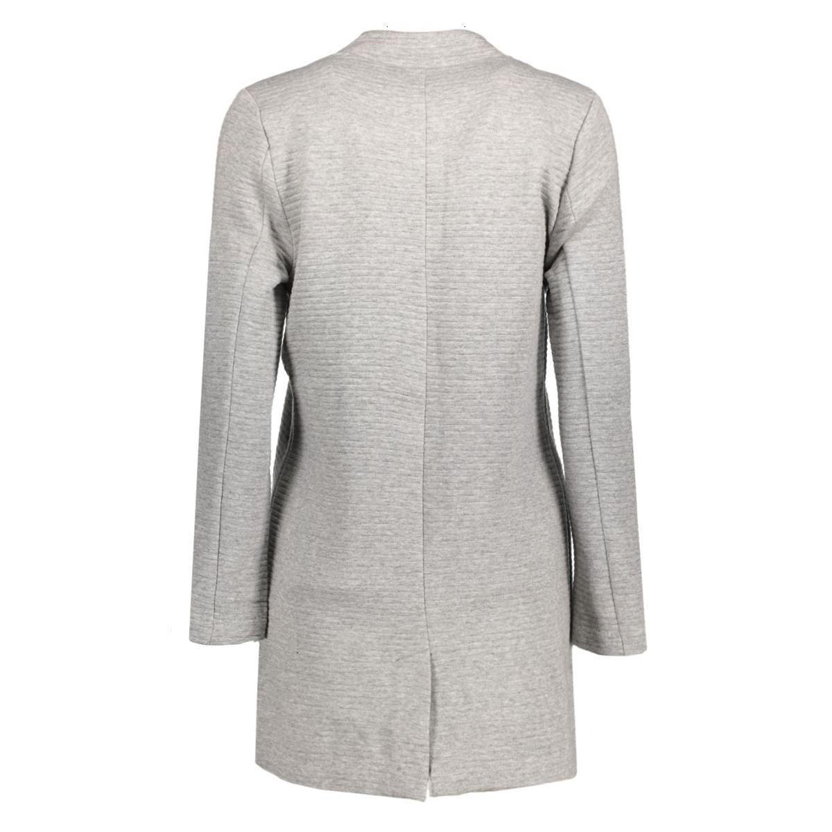 onlmya soft blazer jacket otw noos 15124285 only vest light grey melange