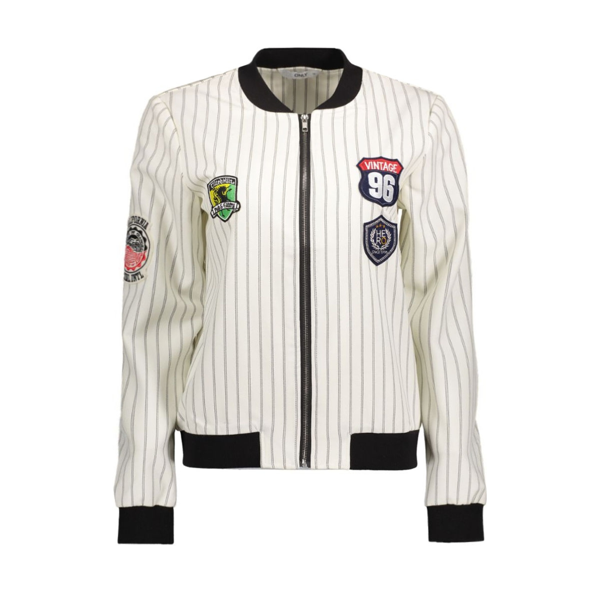 onllano patch l/s bomber wvn 15132479 only jas white