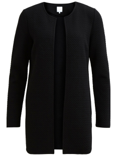 Vila Vest VINAJA NEW LONG JACKET - NOOS 14038000 Black