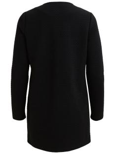 vinaja new long jacket - noos 14038000 vila vest black