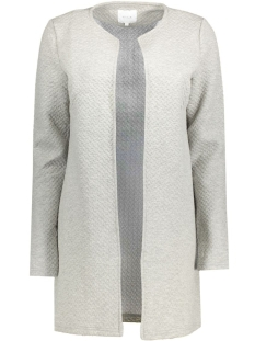 Vila Vest VINAJA NEW LONG JACKET - NOOS 14038000 Light Grey Melange