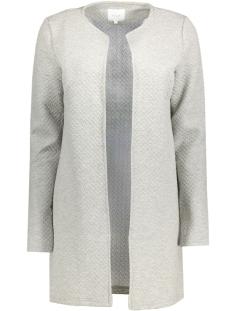 vinaja new long jacket - noos 14038000 vila vest light grey melange