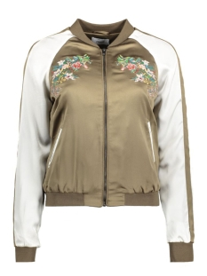Only Jas onlNOISE BIRD/FLOWER BOMBER OTW 15129744 Tarmac/Flower