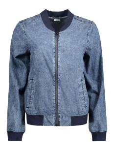 Jacqueline de Yong Jas JDYMALIBU DENIM BOMBER JACKET WVN 15130172 Medium Blue Denim