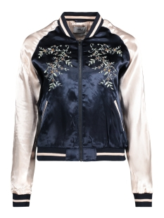 Only Jas onlSOUVENIR FLOWER EMB. BOMBER 15130094 Night sky