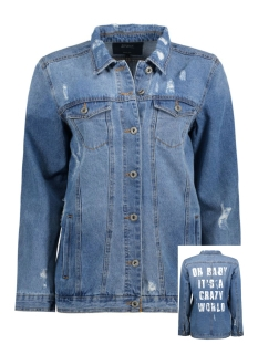 onlEVA OVERSIZE STATEMENT JACKET BJ 15135970 Medium Blue Denim