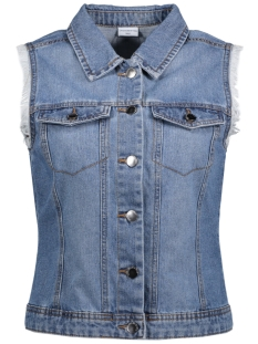 JDYASHLEY DENIM WAISTCOAT DNM 15133206 Light Blue Denim