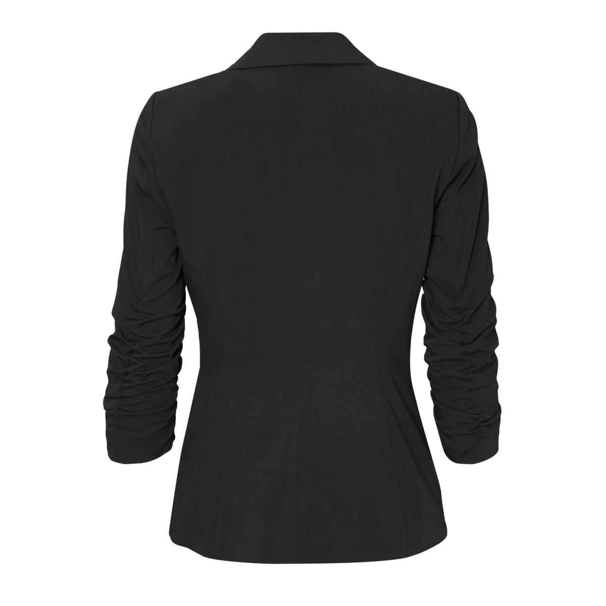 vmwrinkly 3/4 blazer noos 10179859 vero moda blazer black