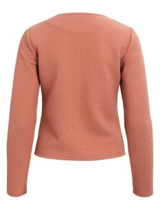 vinaja new short jacket-fav 14043895 vila vest rose dawn